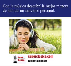 Con la musica descubri