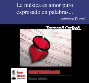 La musica es amor puro